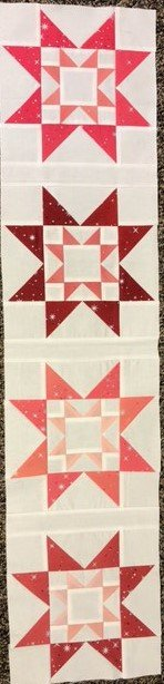2021 Quilters Trek Row by Row Pop of Color KIT