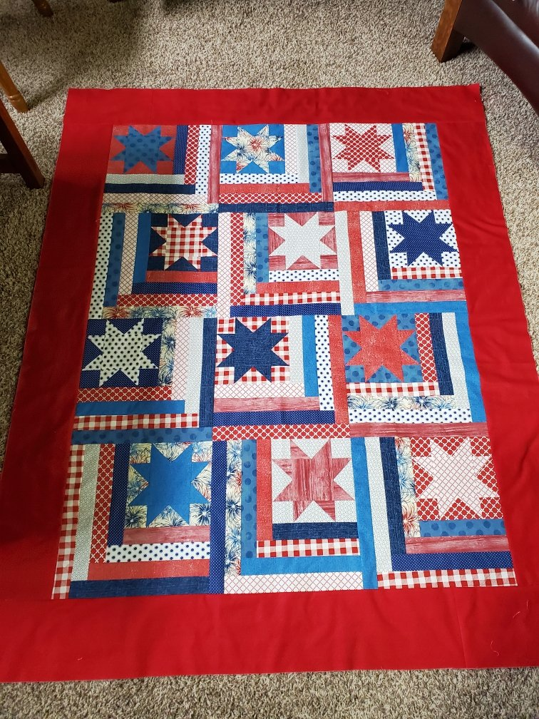 Stars and Strips quilt kit