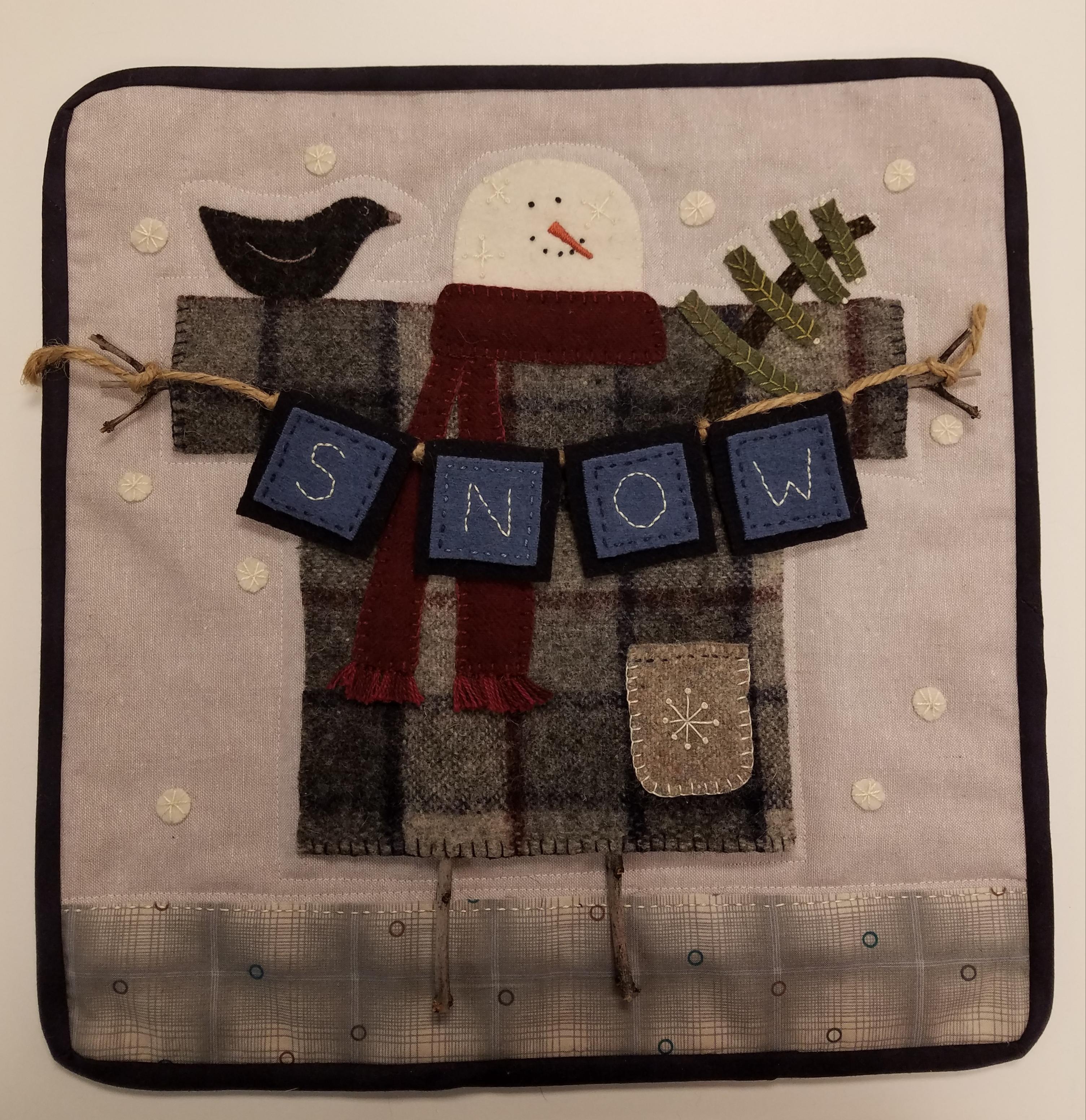 Clothesline Snowman Kit
