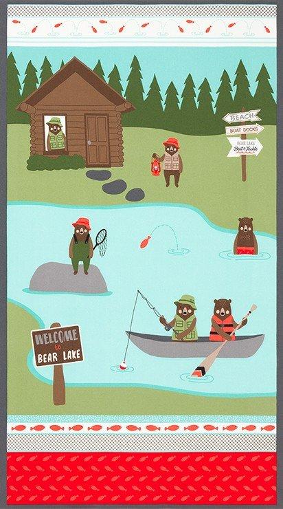 Brawny Bears Panel - Wild