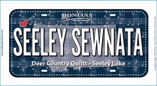 Seeley Sewnata 2018 License Plate