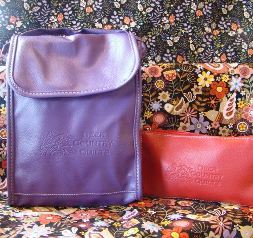 DCQ Purple Lunch Bag