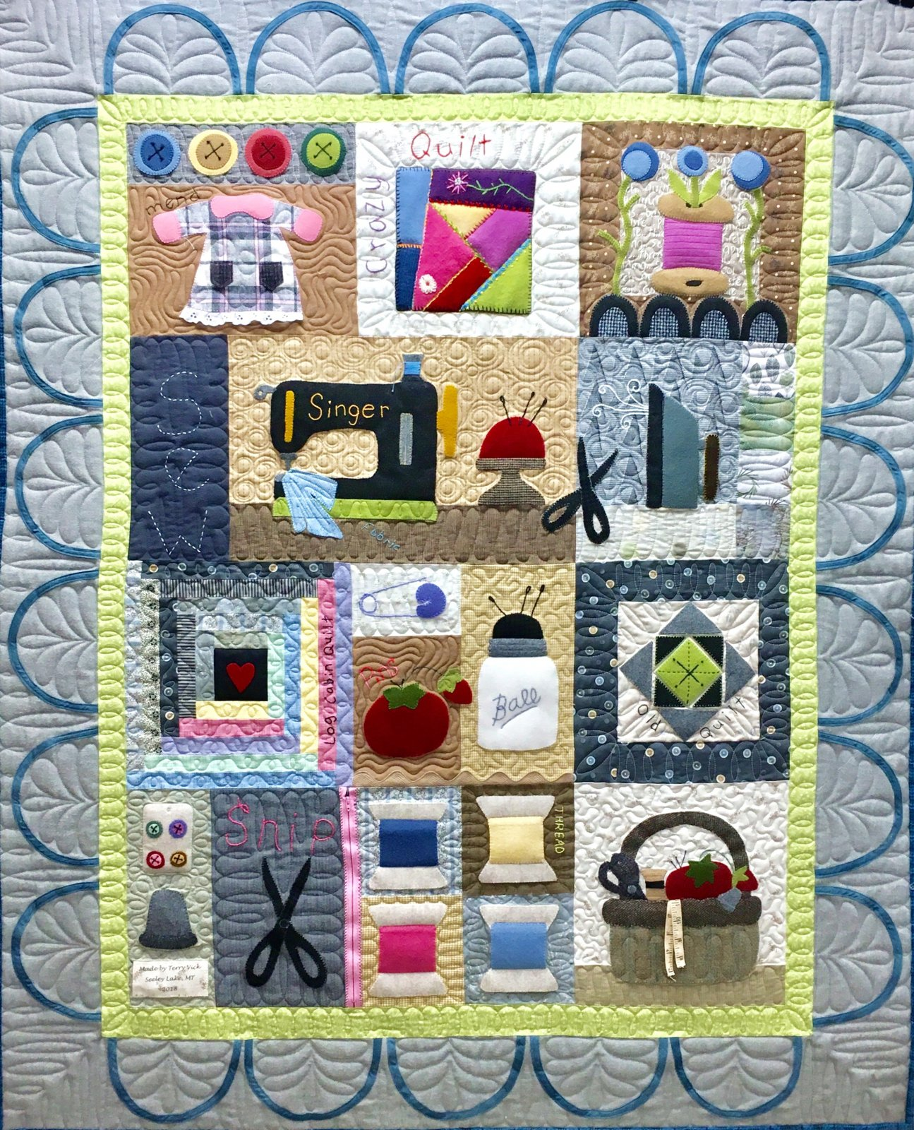 Sew Love Quilt full kit