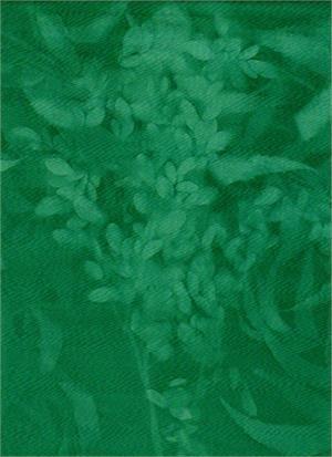 Batik Textiles - Deep Teal Ferns
