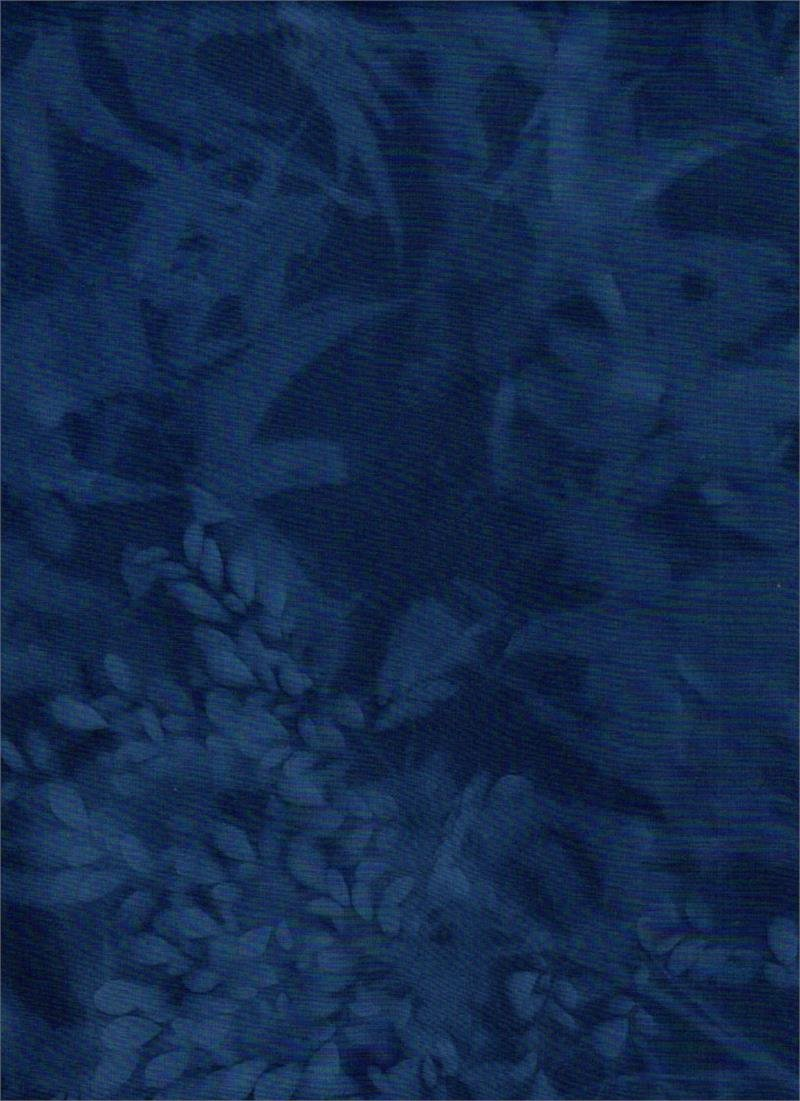 Batik Textiles - Sun Print Navy