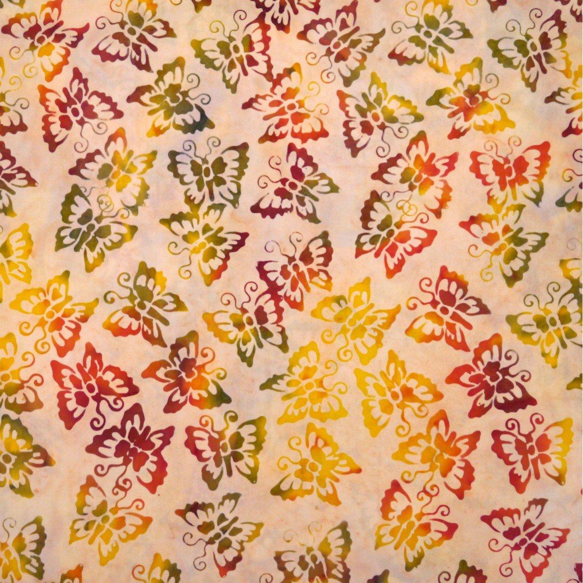 Batik by Mirah - Maple Maze Butterflies