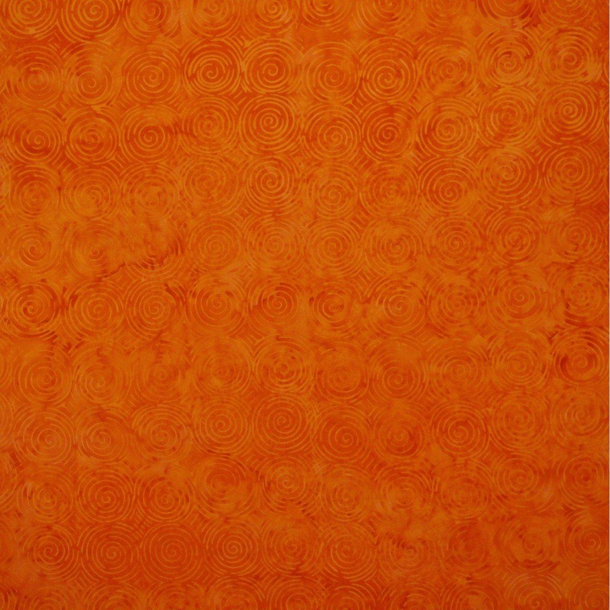 Batik by Mirah - Maple Maze Orange