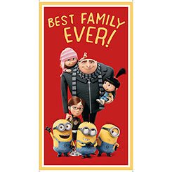 Best Family Ever - Minions Panel