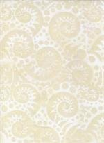 Batik Textiles - Water's Edge - Cream
