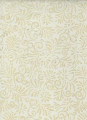 Batik Textiles - Creamy Vines