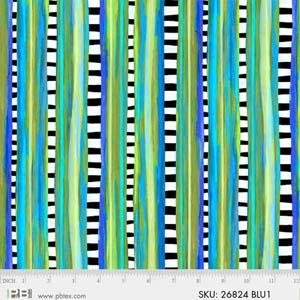 Wild Things Turquoise Stripe