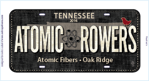 Atomic Rowers Plate 2016