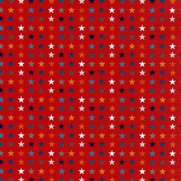 Blast  Off-Red Stars