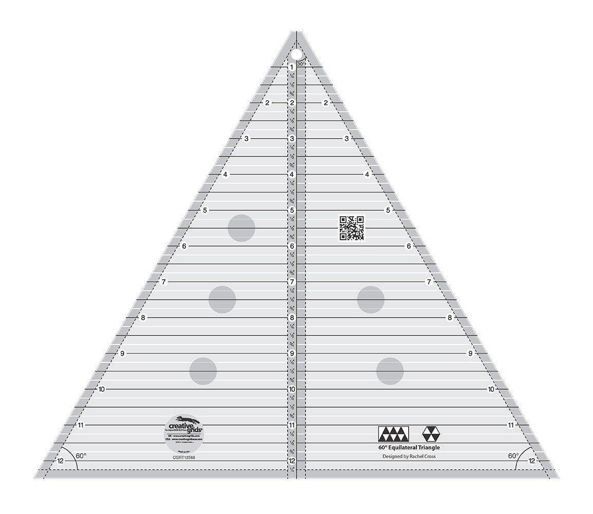 60 Triangle 12 1/2 Finished Size