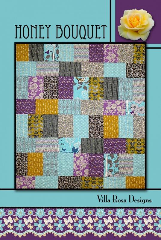 Postcard Pattern - Honey Bouquet