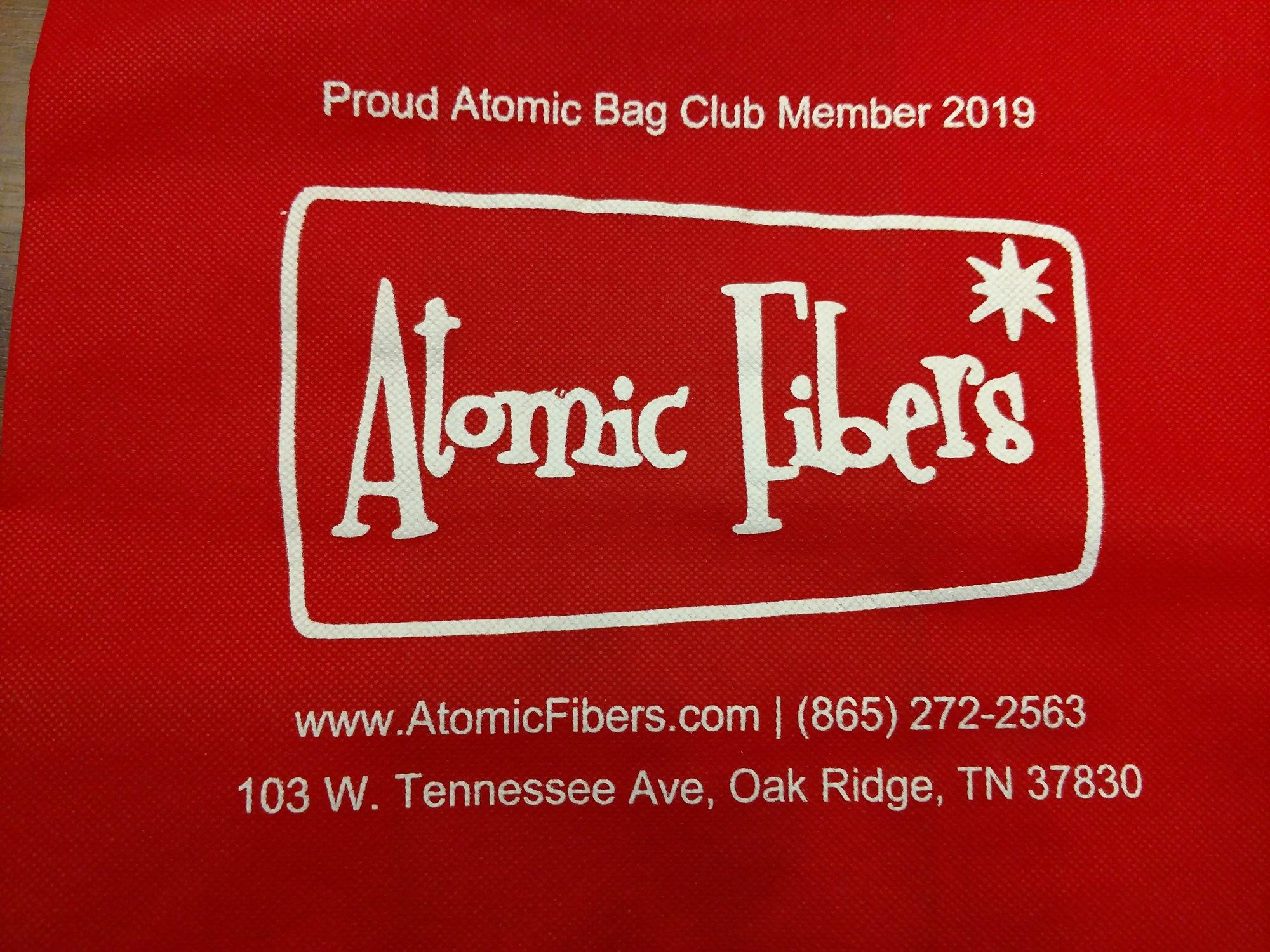 2019 Atomic Bag Club Bag