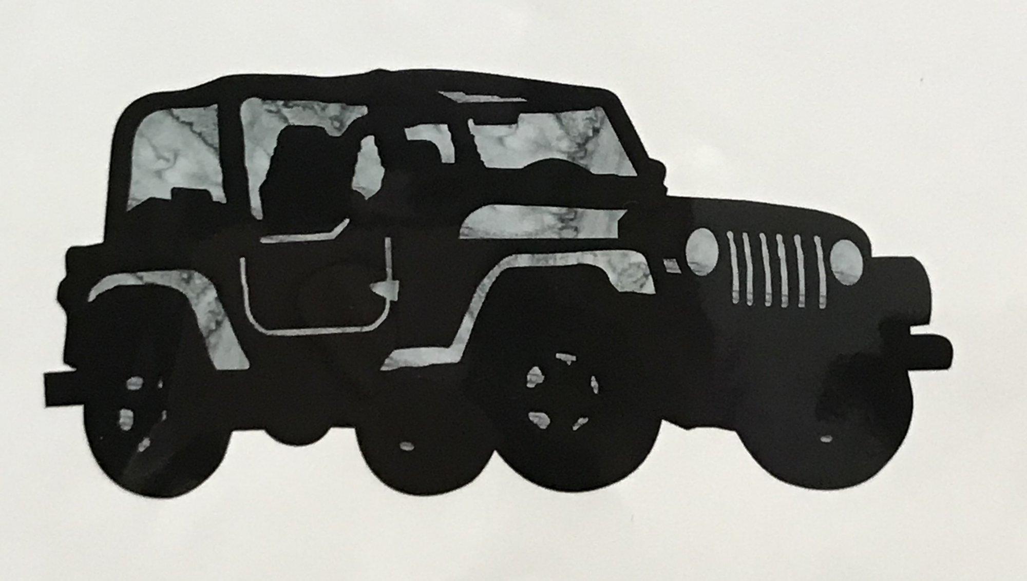 Jeep Appliques - 2017 RxR