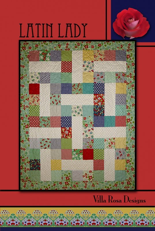 Postcard Pattern - Latin Lady