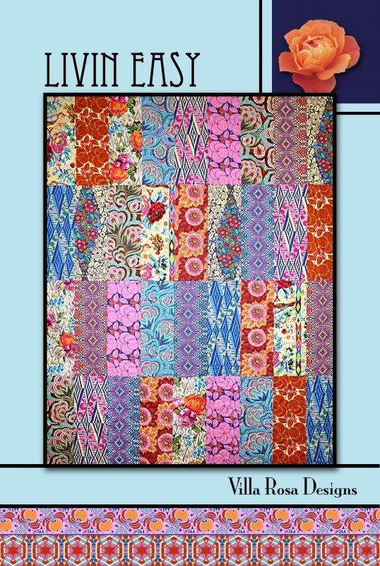 Postcard Pattern - Livin Easy