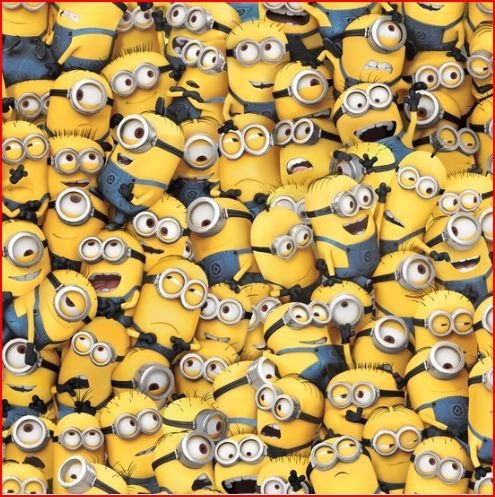 Minions All Over