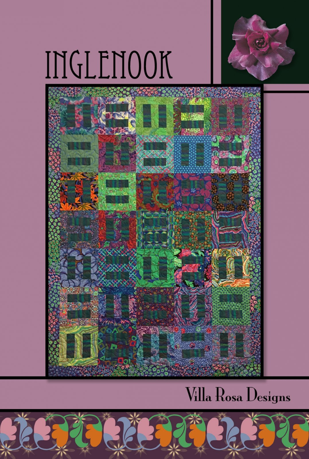Postcard Pattern - Inglenook