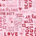 Dear Heart - Phrases in Pink
