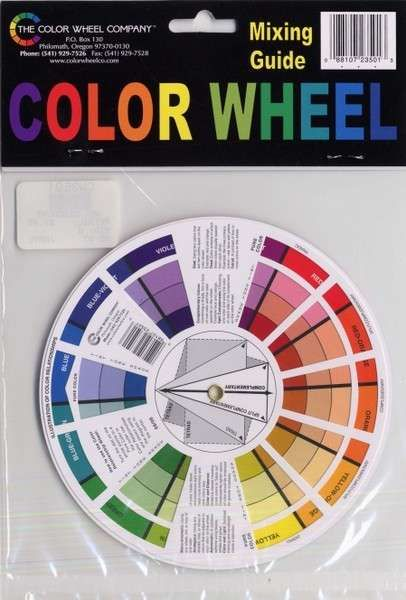 Color Wheel Mixing Guide 5 1/8