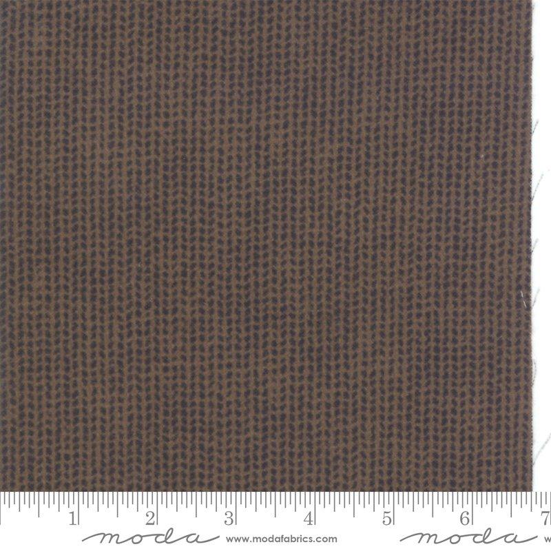 49107 16F Mocha--FARMHOUSE FLANNELS II