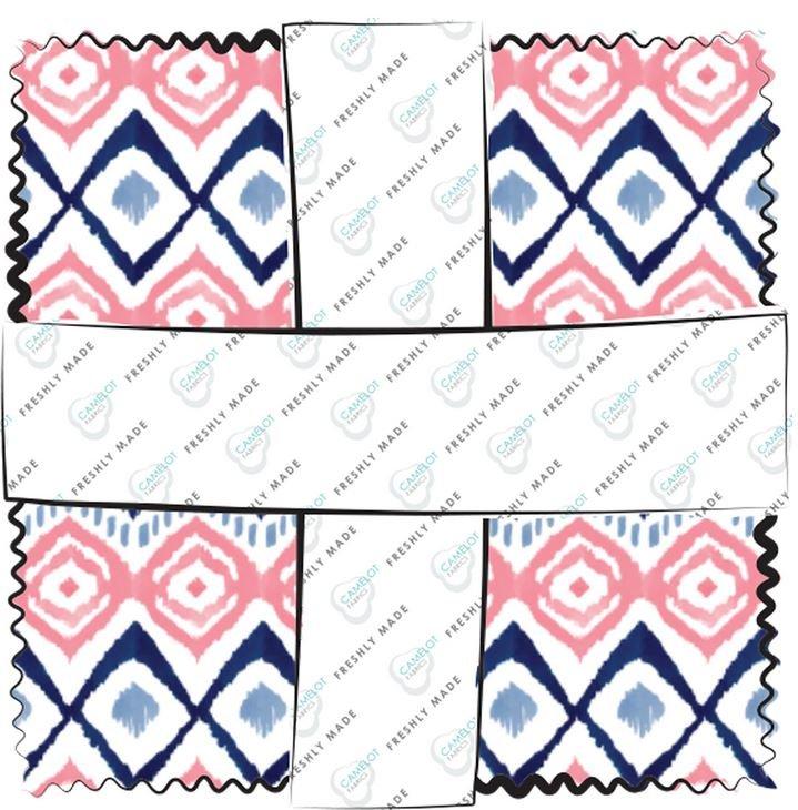 26170112CHA Indigo Rose Charm Pack