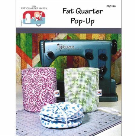 Fat Quarter Pop Up w/ spring