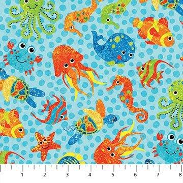 39408-64  3D Undersea  Stonehenge Kids