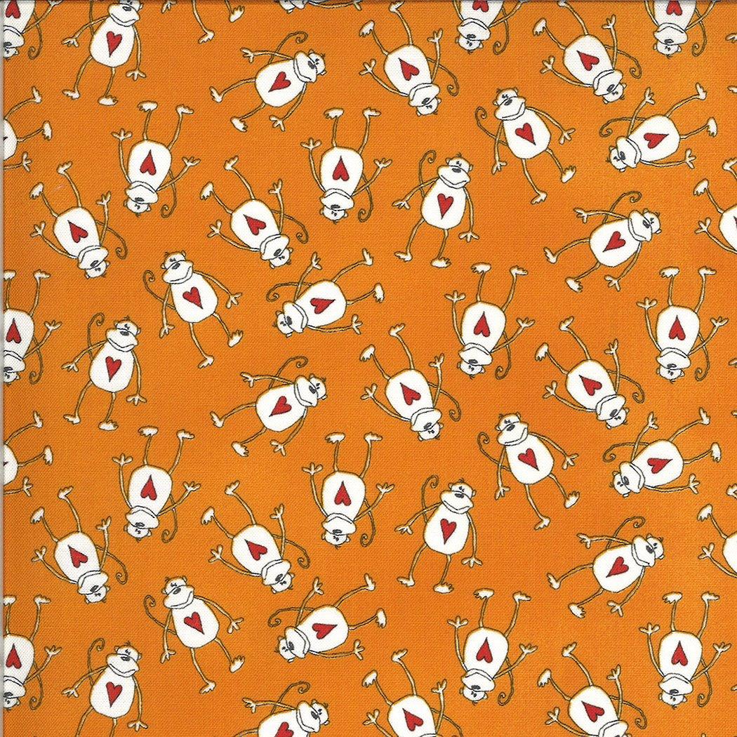 5803 14 ANIMAL CRACKERS--Tangerine