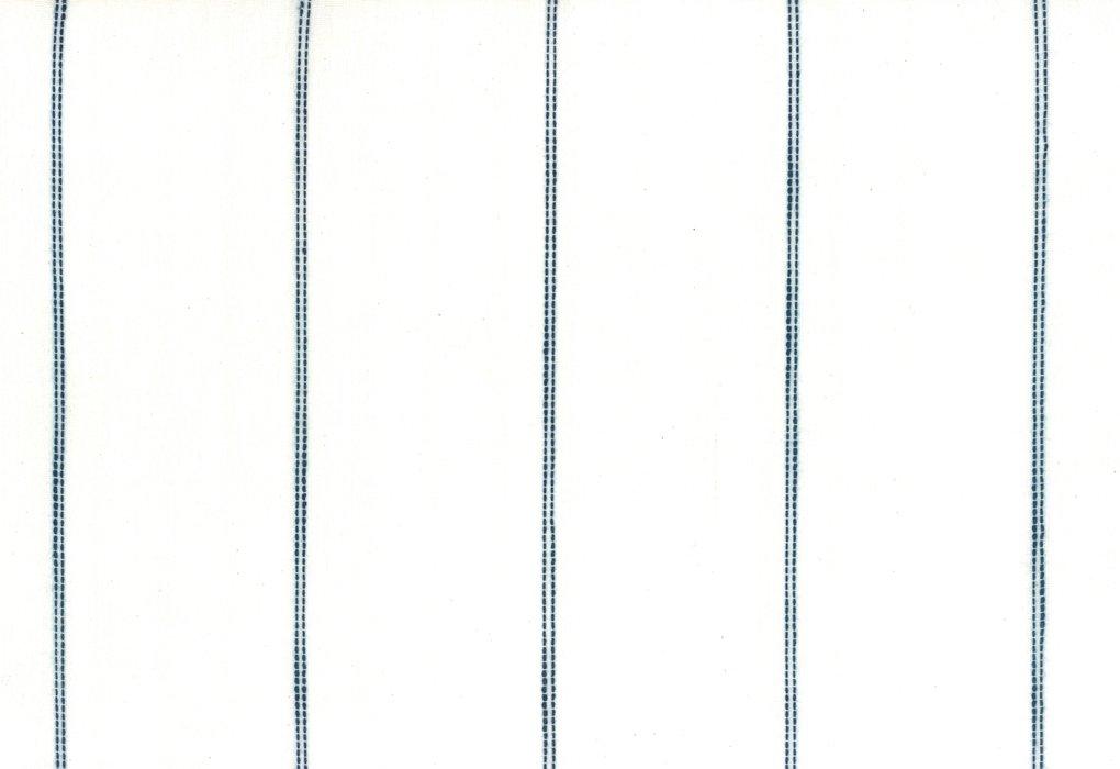 992-232 Tea Toweling--white /blue