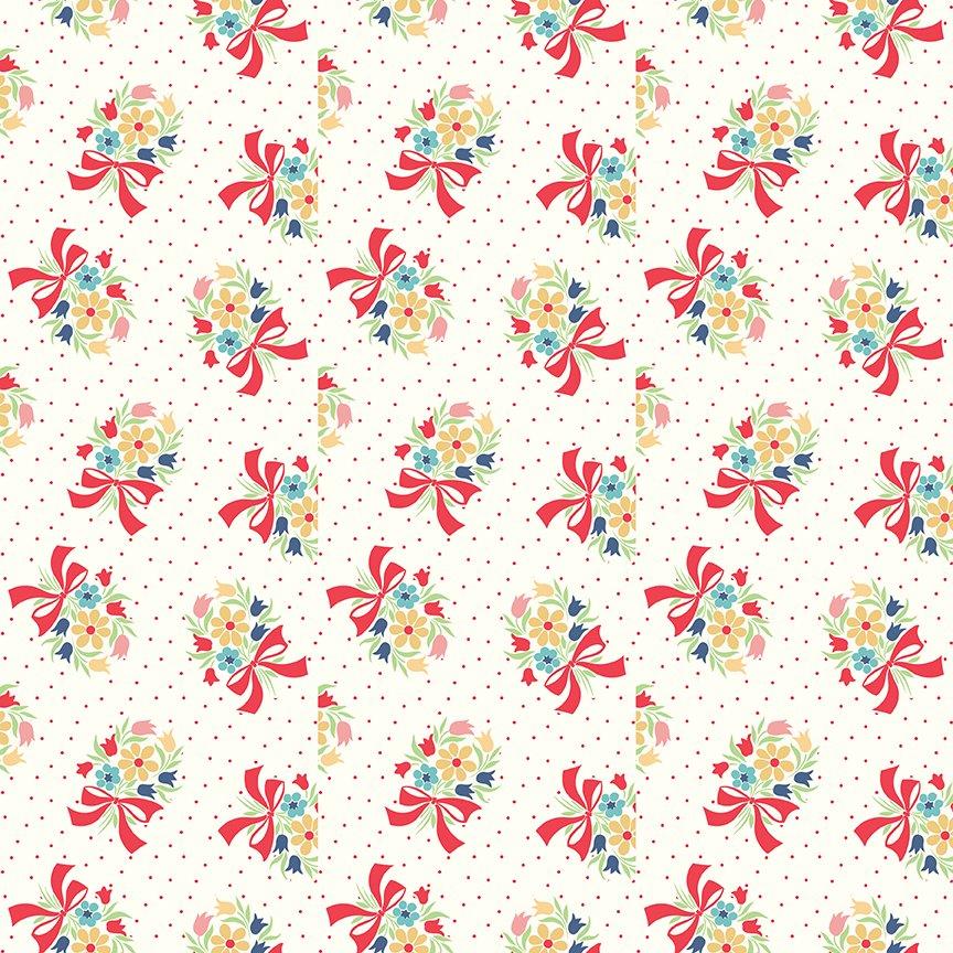 C9135-CLOUD Vintage Happy 2--Bouquet