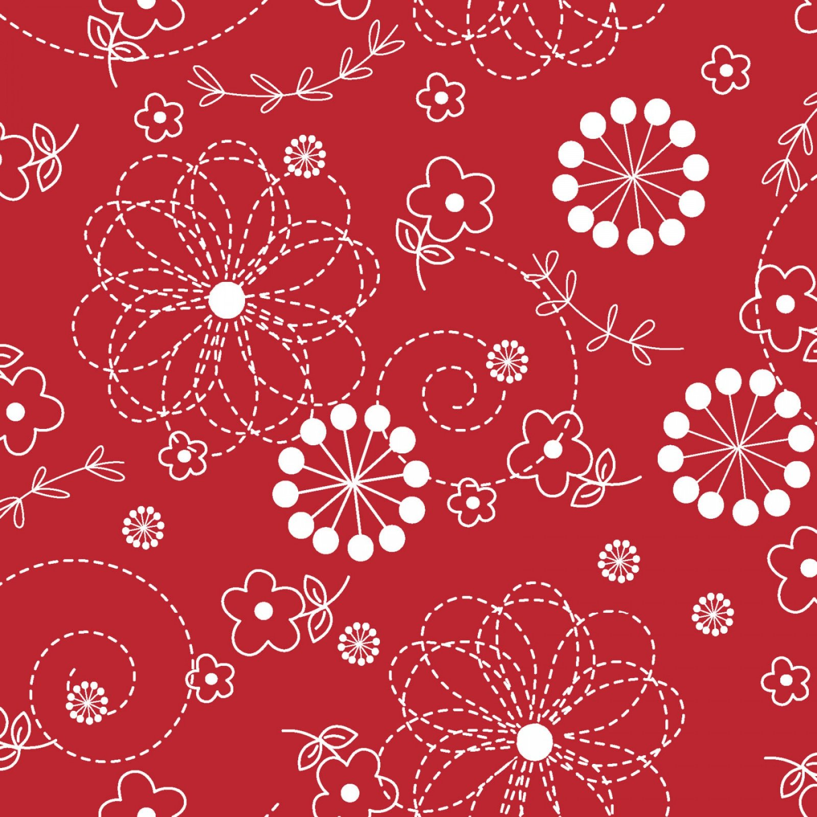 MAS8246-R Kimberbell Basics--Doodle Red