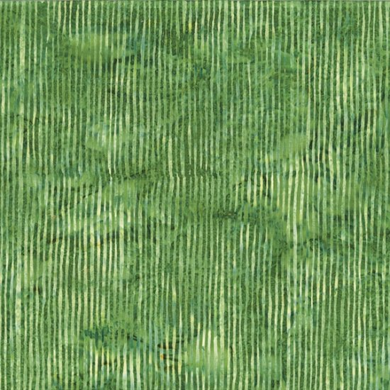 R2284-115 Grass BALI BATIK--SKINNY STRIPES