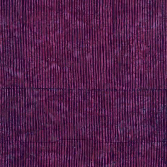 R2284-423 Marsala BALI BATIK--SKINNY STRIPES