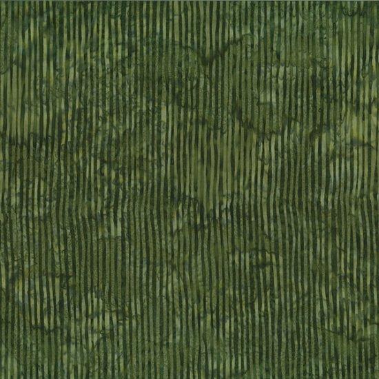 R2284-96 Olive BALI BATIK--SKINNY STRIPES