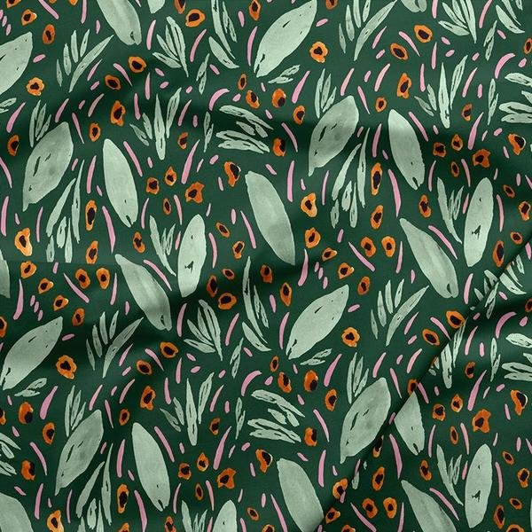 Urban Jungle 120-19771 Exotic Leaves green