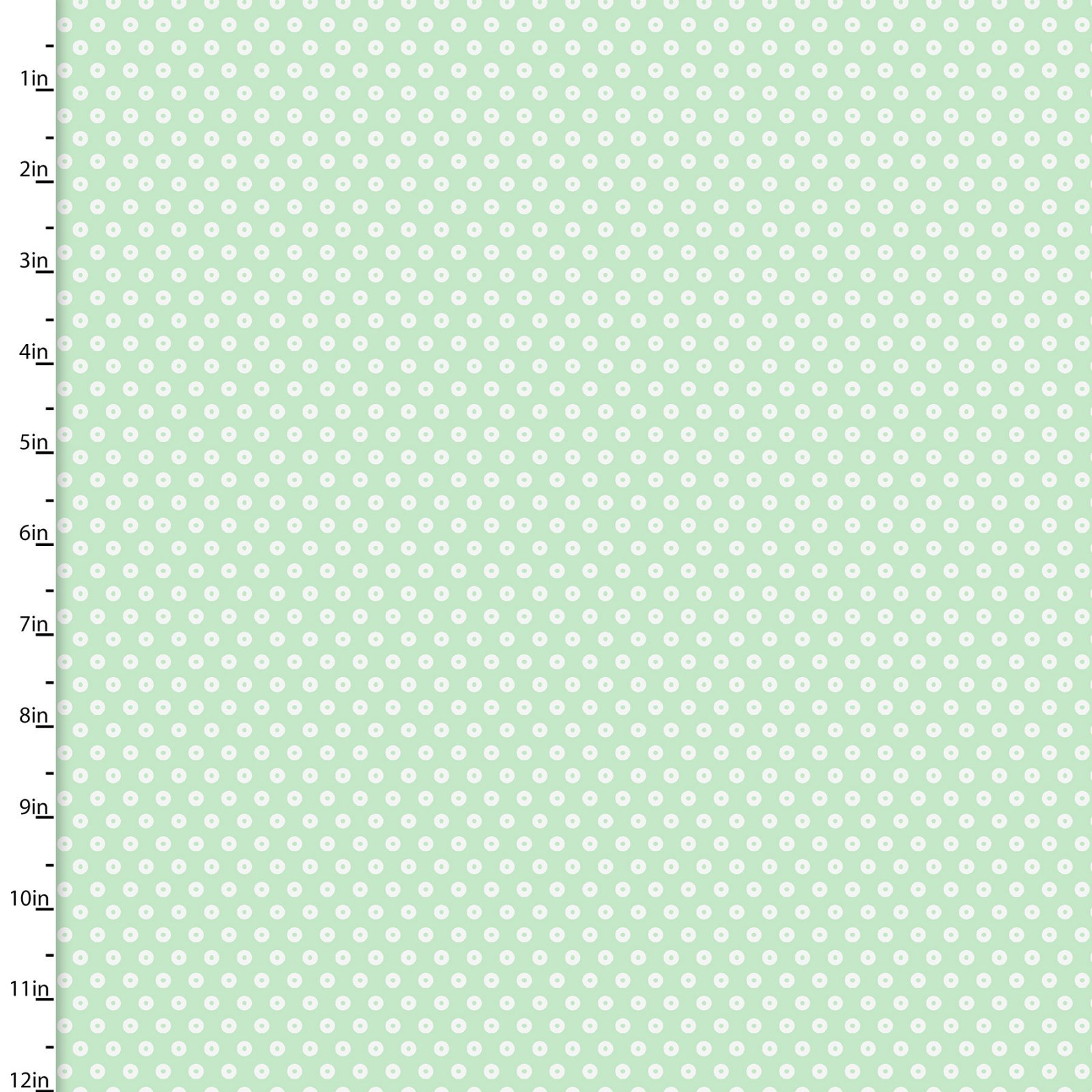 3 WISHES 3WI13006-MINT PLAYFUL CUTIES FLANNEL