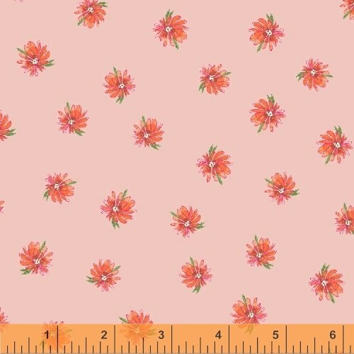 50989-4 kaleidos flowers  blush