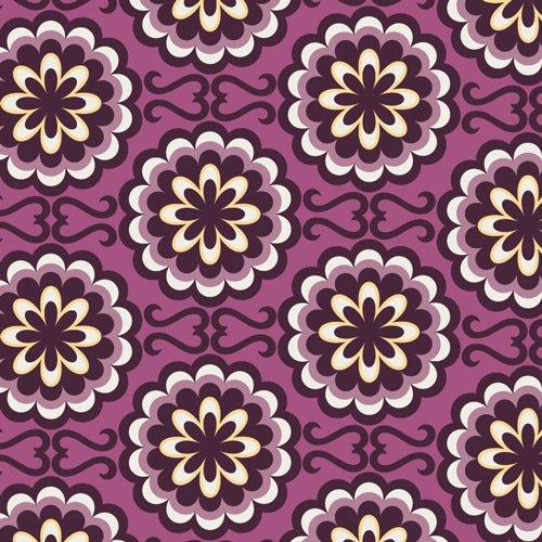 BE-6103 Bespoken Fancy Buttons - Purple