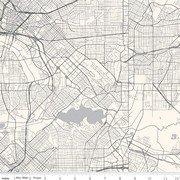 DESTINATIONS C10030 CREAM MAP