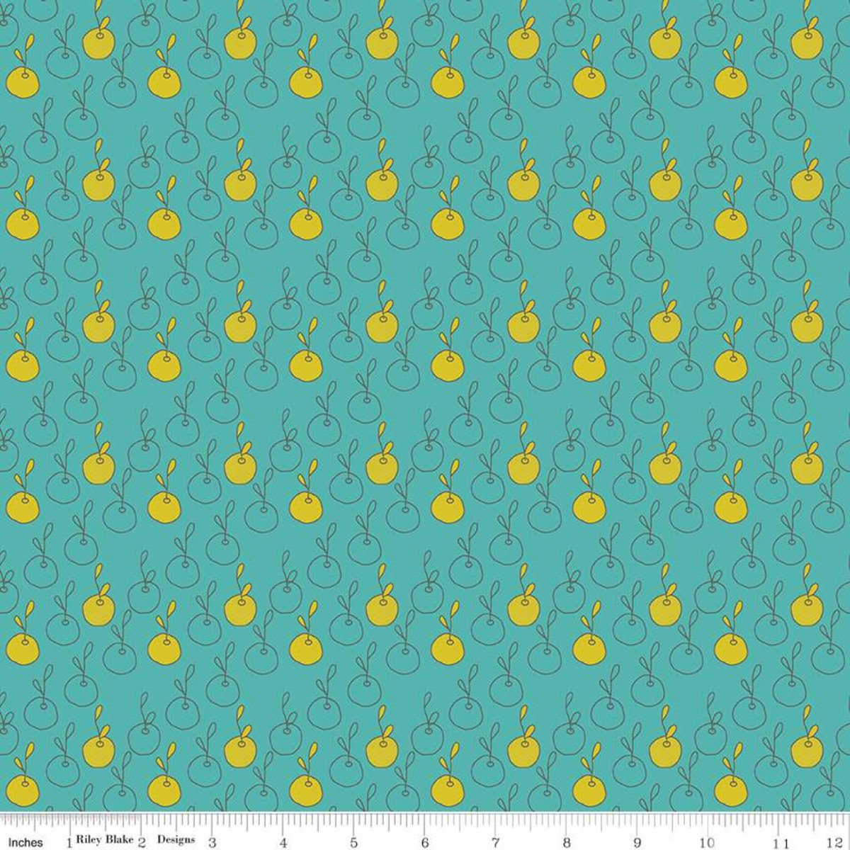 ON THE BRIGHT SIDE C9435 TEAL