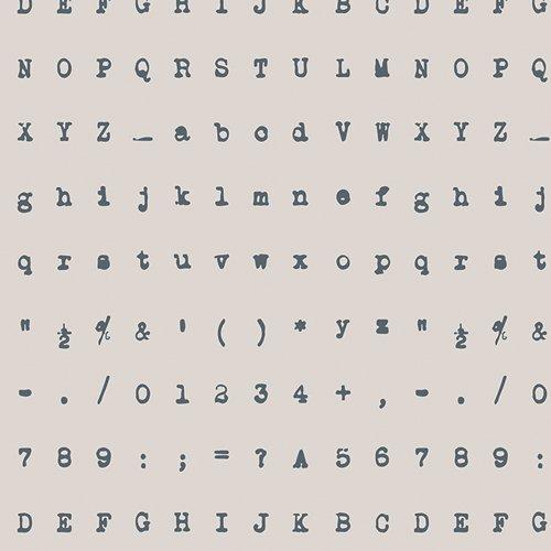 CAP-V-2001 Capsules - Silent Typewriter