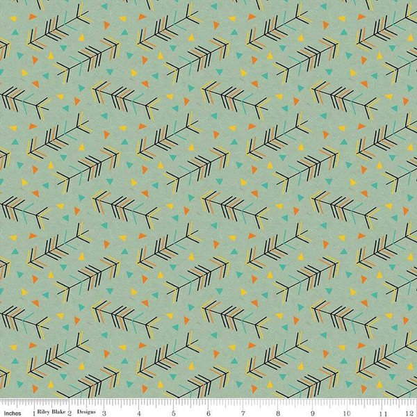 F7777-TEAL flannel