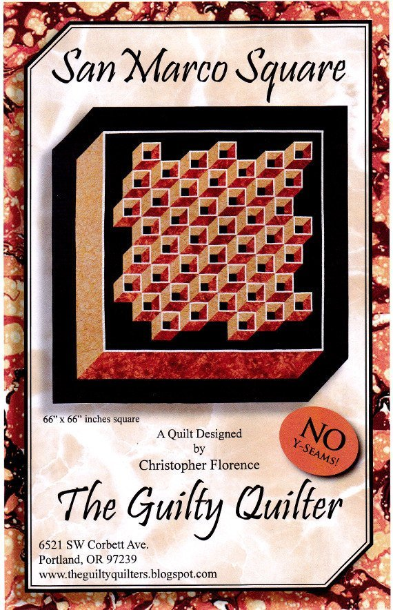 THE GUILTY QUILTER - SAN MARCO SQUARE