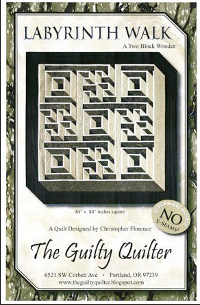 THE GUILTY QUILTER - LABYRINTH WALK