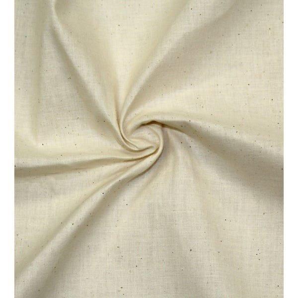 100% cotton muslin  48 wide