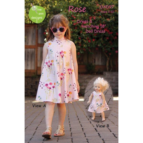 OLIVE ANN - ROSE DRESS